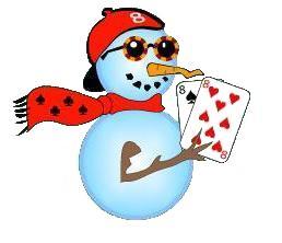 Clean Snowman Alone